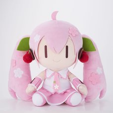 Sakura Miku Deformed Ver. Big Plush