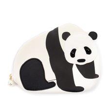 FLAPPER Panda Applique Pouch