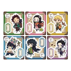 Retro Acrylic Stand Demon Slayer: Kimetsu no Yaiba Outing Box Set