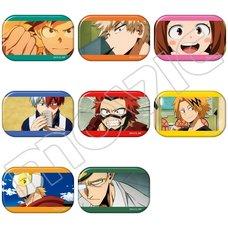My Hero Academia Anime Scenes Character Badge Collection Box Set