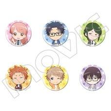 Wotakoi: Love is Hard for Otaku Character Pin Badge Collection Vol. 3 Box Set