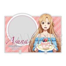 Sword Art Online Asuna Acrylic Memo Stand: Cake Ver.