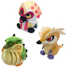 Monster Hunter Rise Plush Collection Vol. 2