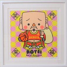 Shibuya Pixel Art Artist Works: Shinichiro Kitai Original Art Print