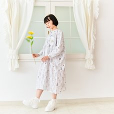CLAMP 30th Anniversary All-Over Print Big Silhouette Long Shirt