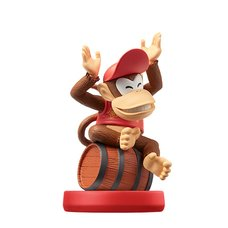 Super Mario Diddy Kong amiibo