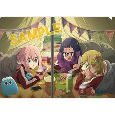 Laid-Back Camp Charaby Clear File