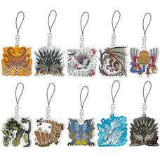 Monster Hunter World: Iceborne Monster Icon Stained Strap Collection Vol. 4 Box Set