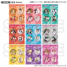 Love Live! Sunshine!! The School Idol Store Official Pin Badge Set Vol. 13
