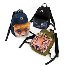 Misfits Animal Face Backpack w/ Faux Fur