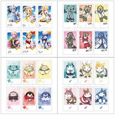 Hatsune Miku Creators Party Polaroid-Style Card Set