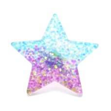 Popuphilia! Glitter Gradation Star Ring