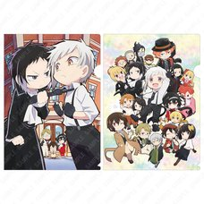 Bungo Stray Dogs Wan! Clear File Set