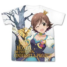 The Idolm@ster Cinderella Girls My First Star!! Mio Honda Graphic T-Shirt