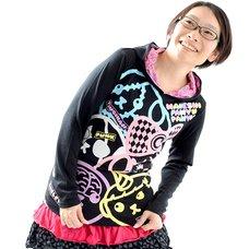 Mameshi Pamyu Pamyu Colorful 5 Long Sleeve T-Shirt Hoodie