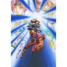 Akihiro Kimura Alnam no Kiba: Juzoku Juni Shinto Densetsu Promotional Artwork Reproduction Art Print
