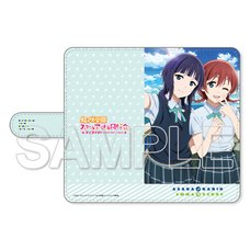 Love Live! Nijigasaki High School Idol Club Karin Asaka & Emma Verde Notebook-Style Smartphone Case