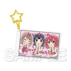 Love Live! Sunshine!! Aqours Acrylic Keychain Collection