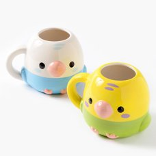 Kotori Tai Bird Die-Cut Mugs