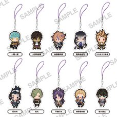 Touken Ranbu -Online- Puchi Bitto Trading Keychains Collection Vol. 4