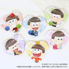 Osomatsu Knitting Wool Character Badge Collection