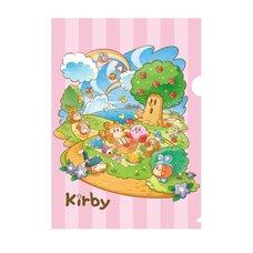 Kirby Super Star Clear Folder
