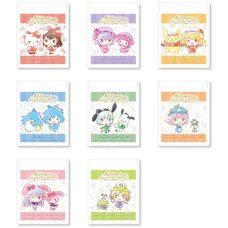 Touhou Project x Sanrio Characters Folding Mirror Collection