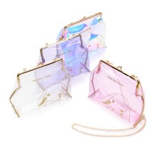Pote Usa Loppy Clear Gamaguchi Shoulder Bag