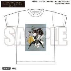 Bushiroad x Yoshitaka Amano Artworks Game Illustration T-Shirt 02