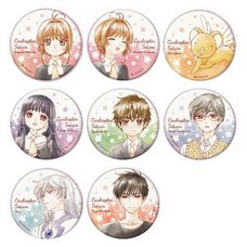 Cardcaptor Sakura: Clear Card Character Badge Collection Box Set