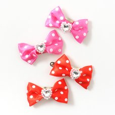 Osewaya Polka Dot Ribbon Barrette