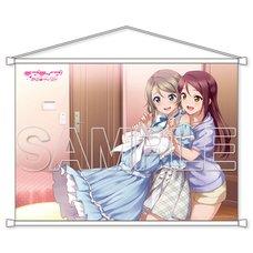 Love Live! Sunshine!! Aqours Riko & You B2-Size Tapestry