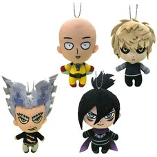 One-Punch Man Mascot Plush Collection