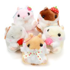 Coroham Coron Ichigo Hamster Plush Collection (Ball Chain)