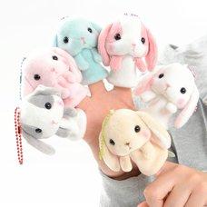 Pote Usa Loppy Rabbit Mini Puppets