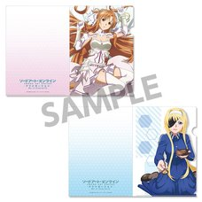 Sword Art Online: Alicization War of Underworld Clear File Set Vol. 6