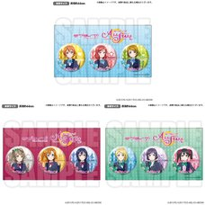Love Live! Series μ's All Stars Official Pin Badge Set