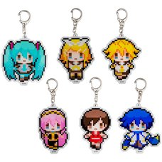 Hatsune Miku Logic Paint  Mikulogi Acrylic Keychain Collection