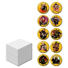 The King of Fighters '94: Rebout Trading Pin Badge Box Set