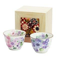 Hana Kobo Mino Ware Teacup Set