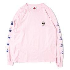 Mr. Fried Chicken Light Pink Long Sleeve T-Shirt
