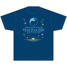 Aqours 6th LOVELIVE! Dome Tour 2020 T-Shirt ~Journey to the Sunshine~