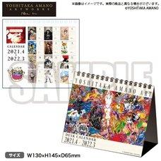Bushiroad x Yoshitaka Amano Artworks 2021 Desktop Calendar