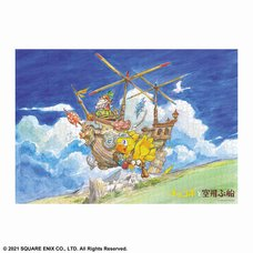 Final Fantasy Picture Book Chocobo and the Flying Shop 1000-Piece Jigsaw Puzzle