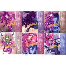 Sword Art Online Alternative: Gun Gale Online Mini Acrylic Art Collection Box Set