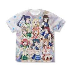Love Live! Sunshine!! Aqours Full Graphic White T-Shirt