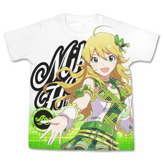 The Idolm@ster One For All Miki Hoshii Full-Color White T-Shirt