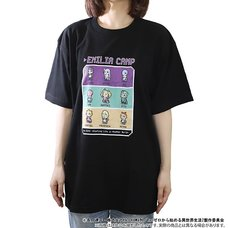 Re:Zero -Starting Life in Another World- Emilia Camp T-Shirt