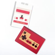 Famicom Stationery Supplies: Spiral Notebooks