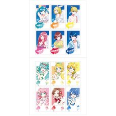 Hatsune Miku Summer Party Polaroid-Style Card Set